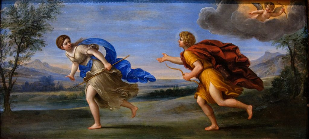Apolo y Dafne. Albani