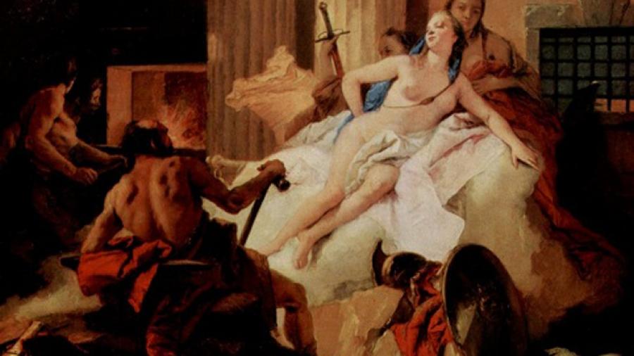 La pasión de Ares y Afrodita