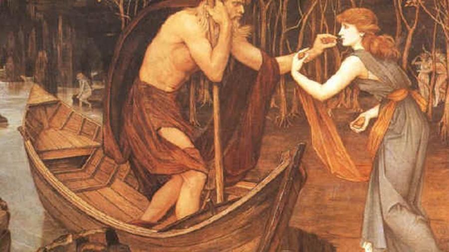 La barca de Caronte