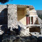 Los palacios minoicos en Creta