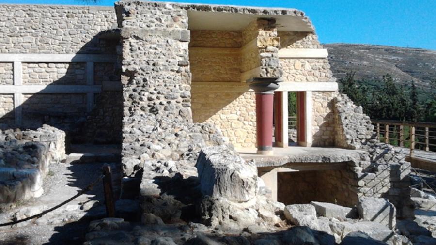 Palacios minoicos en Creta