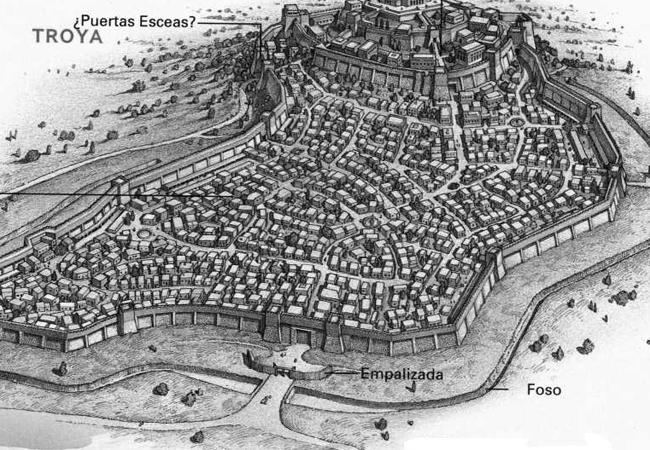 La ciudadela de Troya