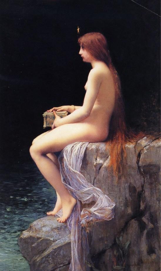 La caja de Pandora Jules Joseph Lefebvre