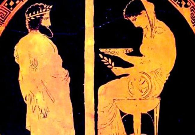 Oráculos y adivinos en la mitología griega